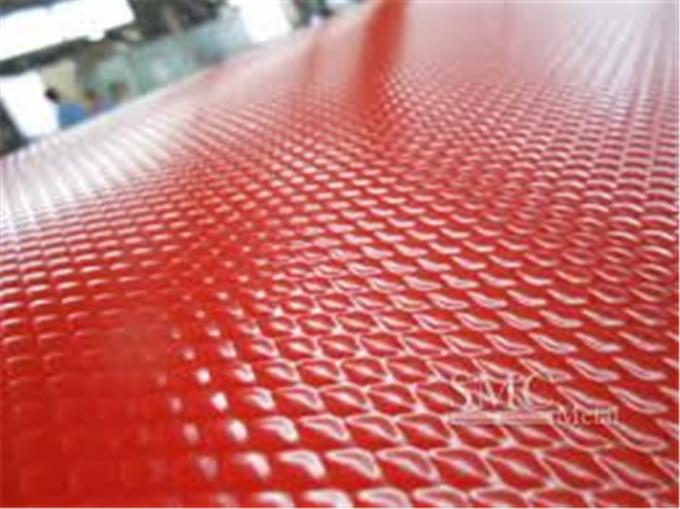Embossed Color Coated Steel Coil, Ral Color , 0.16mm - 0.8mm Painted Steel Coil