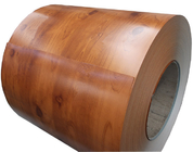 Wood / Stone Grain Pattern Galvanised Steel Coils Anti - Rust For Building